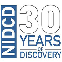 NIDCD's 30th anniversary graphic.