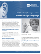 American Sign Language thumbnail