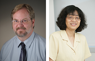 (Left image) Zhong Chen, M.D., Ph.D., (Right image) Zhong Chen, M.D., Ph.D.