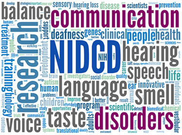 NIDCD Tag Cloud