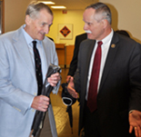 Representative David McKinley Visits with NIDCD Director James Battey