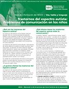 Problemas de comunicación en los niños con trastornos del espectro autista (Communication Problems in Children with Autism Spectrum Disorder)