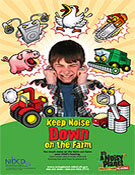 Noisy Planet Keep Noise Down on the Farm poster