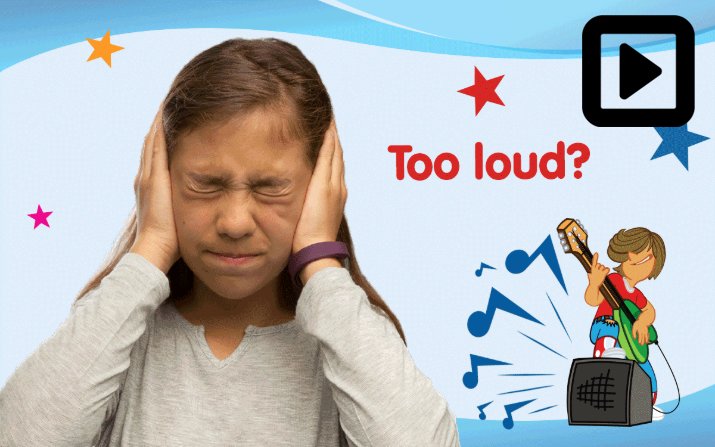 Too loud? Use hearing protection.