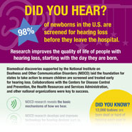 Infographic: 20 Years of Newborn Hearing Screenings